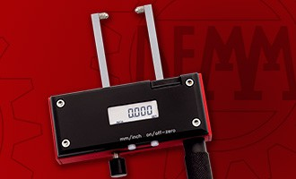 Digital dial calipers for ins/out measurement